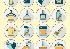 Free vector Cleanliness icons #2732