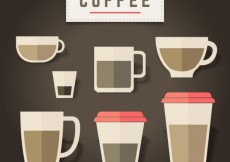 Free vector Coffee cups #1861