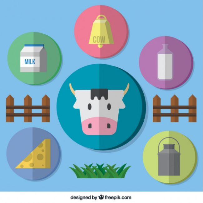 Free vector Collection of farming icons #3097