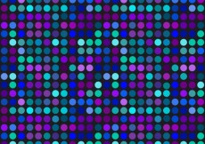 Free vector Colored dotted pattern #3260