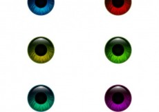 Free vector Colored eyes #2395