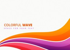 Free vector Colorful wave background #243