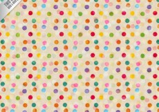 Free vector Dotted pattern in colorful style #1904