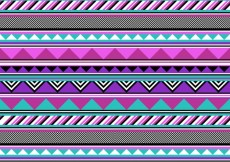 Free vector Ethnic colorful pattern #2561