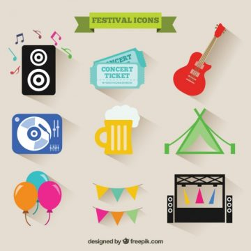 Free vector Festival icons #3226