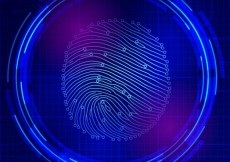 Free vector Finger print scan #1053