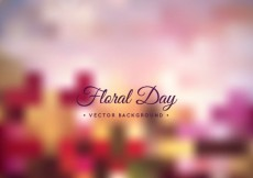 Free vector Floral day background #1453