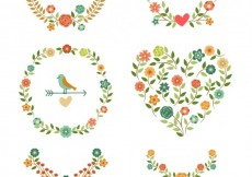 Free vector Floral decoration #1381