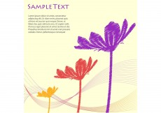 Free vector Floral Vector Background #3497