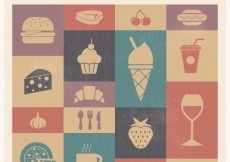 Free vector Food and drink icons #1153
