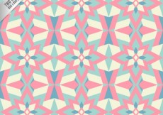 Free vector Geometric background in abstract style #3173