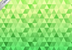 Free vector Green pattern with triangles #2647