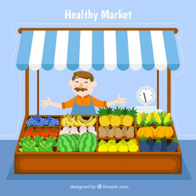 Free vector Healthy market #3002
