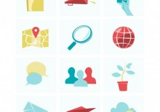 Free vector Illustrations of smartphone elements #2333