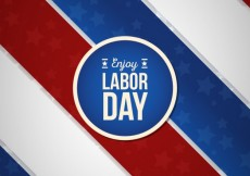Free vector Labor day card #2431