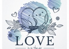 Free vector Love is in the air #3031