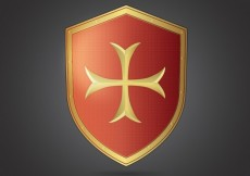 Free vector Medieval shield #1970