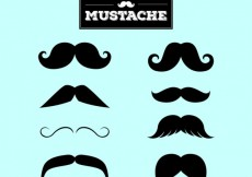Free vector Mustaches collection #2576
