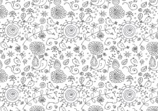 Free vector Nice Floral Vector Background #3535