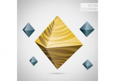 Free vector Octagon Abstract Vector Background #3815