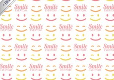 Free vector Pattern with smiles #2320