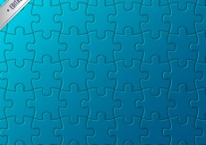 Free vector Puzzle pattern #3054
