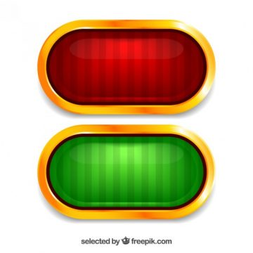 Free vector Red and green buttons #518