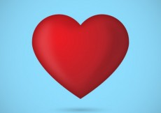 Free vector Red heart #1177
