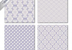 Free vector Retro patterns collection #1359