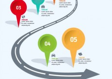 Free vector Road infographic #182