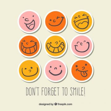Free vector Smiley stickers #1551