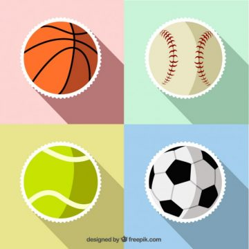 Free vector Sport ball stickers #1504