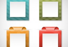 Free vector Square bookmarks #111