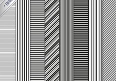 Free vector Striped patterns #2596
