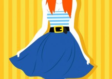 Free vector Summer clothes #566