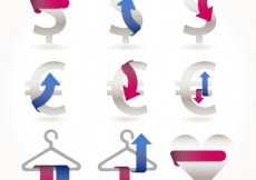 Free vector Symbols with ribbons #3161