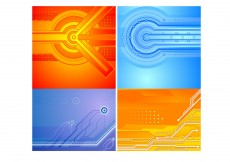 Free vector Technology Backgrounds #3484