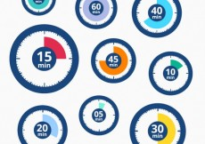 Free vector Timer icons #1195
