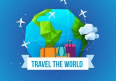 Free vector Travel the world #802