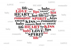 Free vector Valentine love expressions #3436