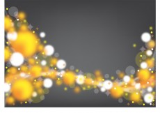 Free vector Yellow and white bubbles background #3832
