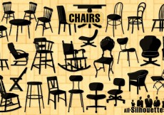 Free vector 28 Free vector chairs #5132