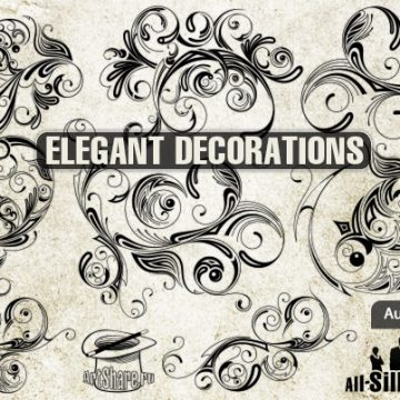 Free vector 9 elegant decoration #5610
