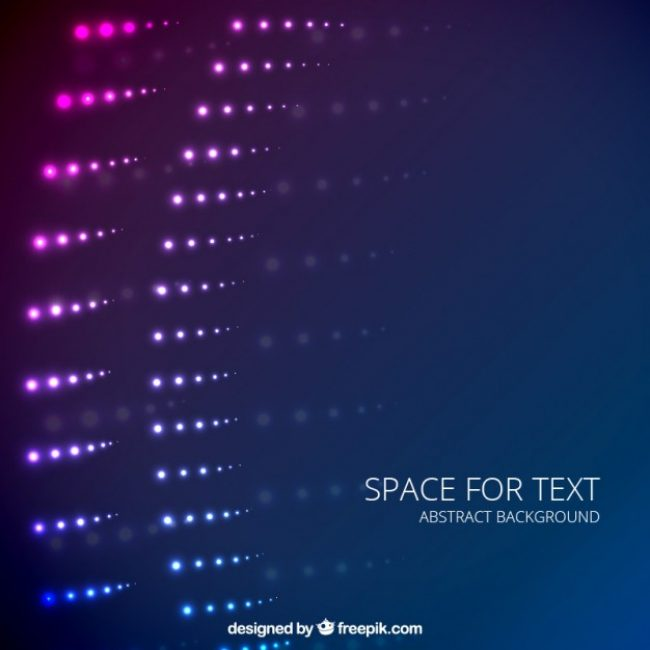 Free vector Abstract background with light spots #5864
