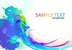 Free vector Abstract Colorful Paint Ink Splashes Background #9891