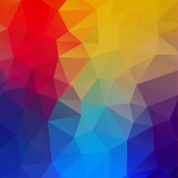 Free vector Abstract Geometric Shapes Colorful Background #5417