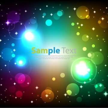 Free vector Abstract Glowing Colorful #5973