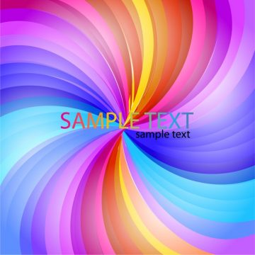 Free vector Abstract Rainbow Stripe #6023
