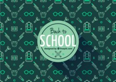 Free vector Back to school label #6593