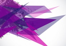 Free vector Background with purple triangles and stains #7797